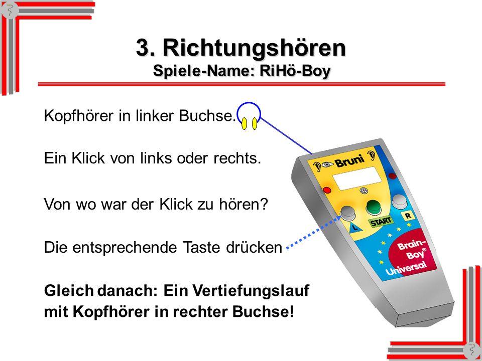 Brain-Boy-Universal und Zubehör Standard-Version: Artikel-Nummer 2222 Schaumstoffhalterung Art.-Nr.