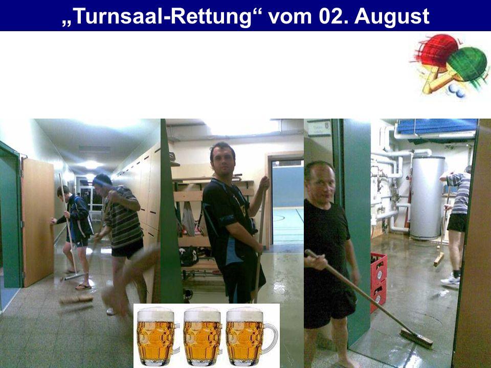 Turnsaal-Rettung vom 02. August
