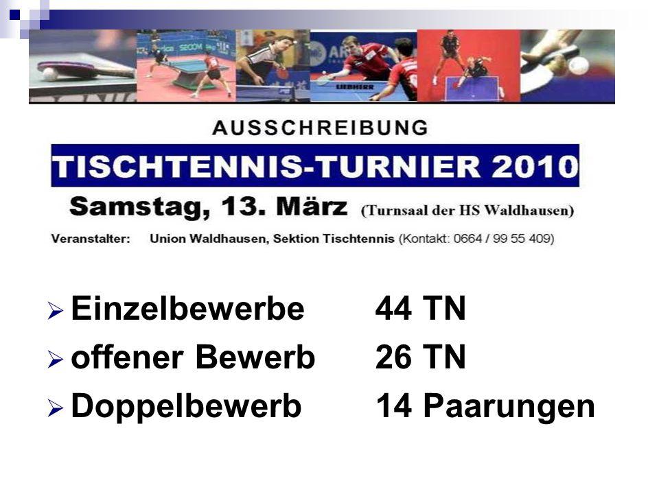 TT-Turnier 2010 - SPIELE Union-Chef voll im Einsatz