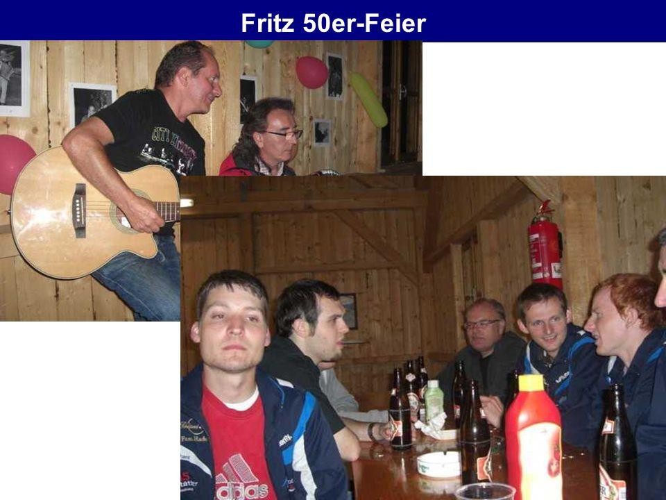 Fritz 50er-Feier