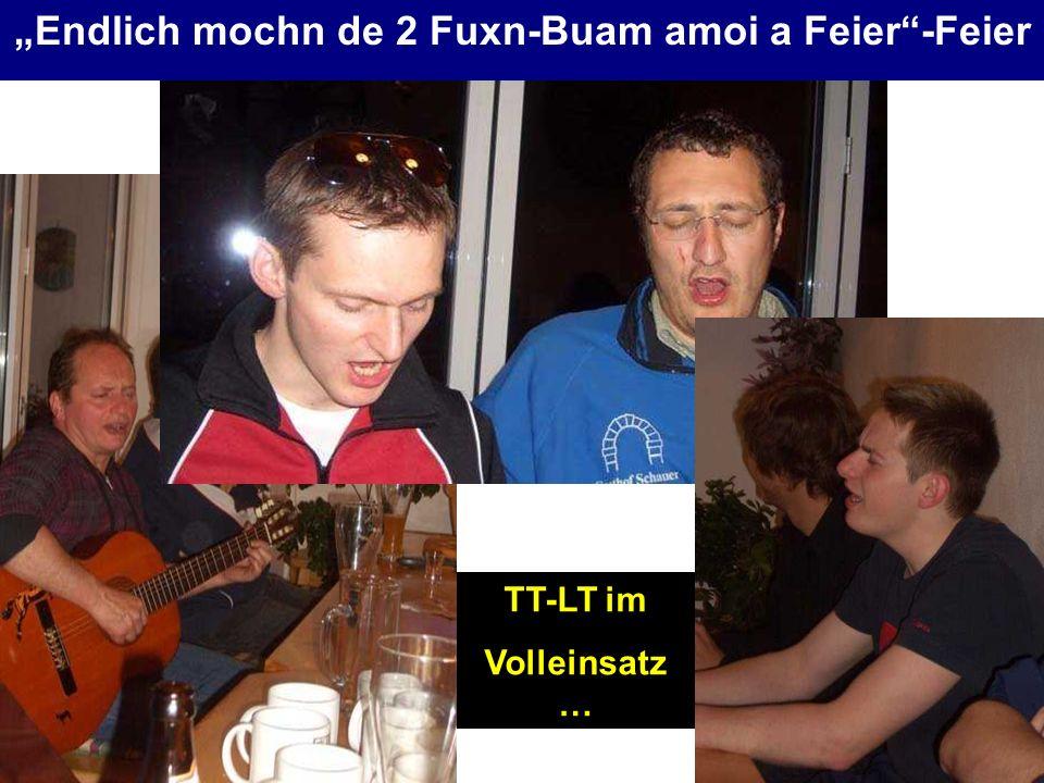 TT-LT im Volleinsatz …