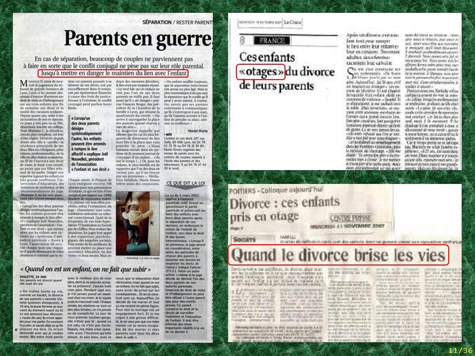 10/36 Ehre an einer der Väter, müde vom vergeblichen Kampf, der sich schließlich das Leben genommen hat. 5 articles de presse + hommage