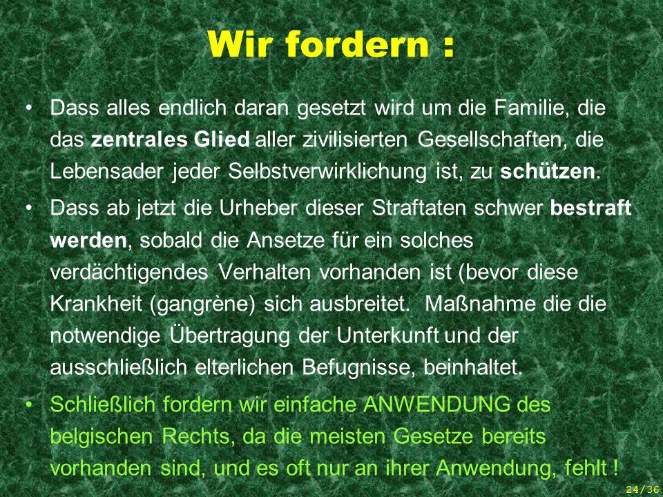 23/36 Die Mütter sind auch Opfer dieses Übels ! 5 articles de presse (mamans)