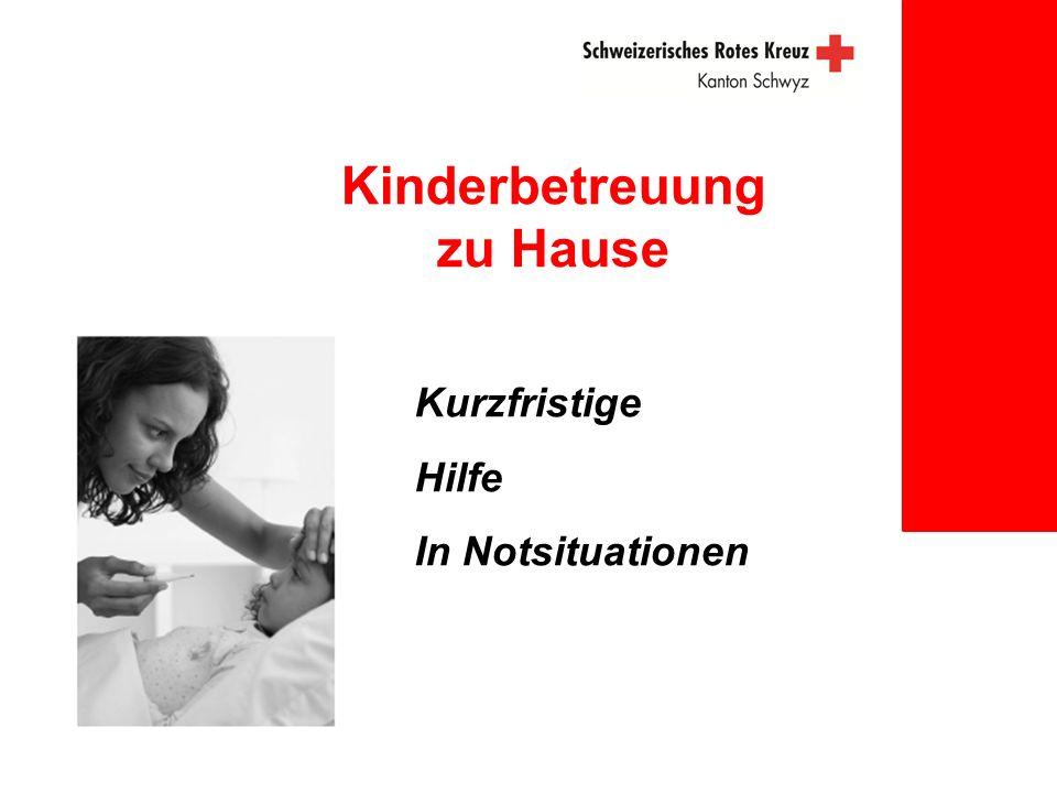 Kinderbetreuung zu Hause Kurzfristige Hilfe In Notsituationen