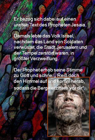 Dieses Lied hat hat der Jesuit Friedrich von Spee 1623 während des Dreißigjährigen Krieges gedichtet.