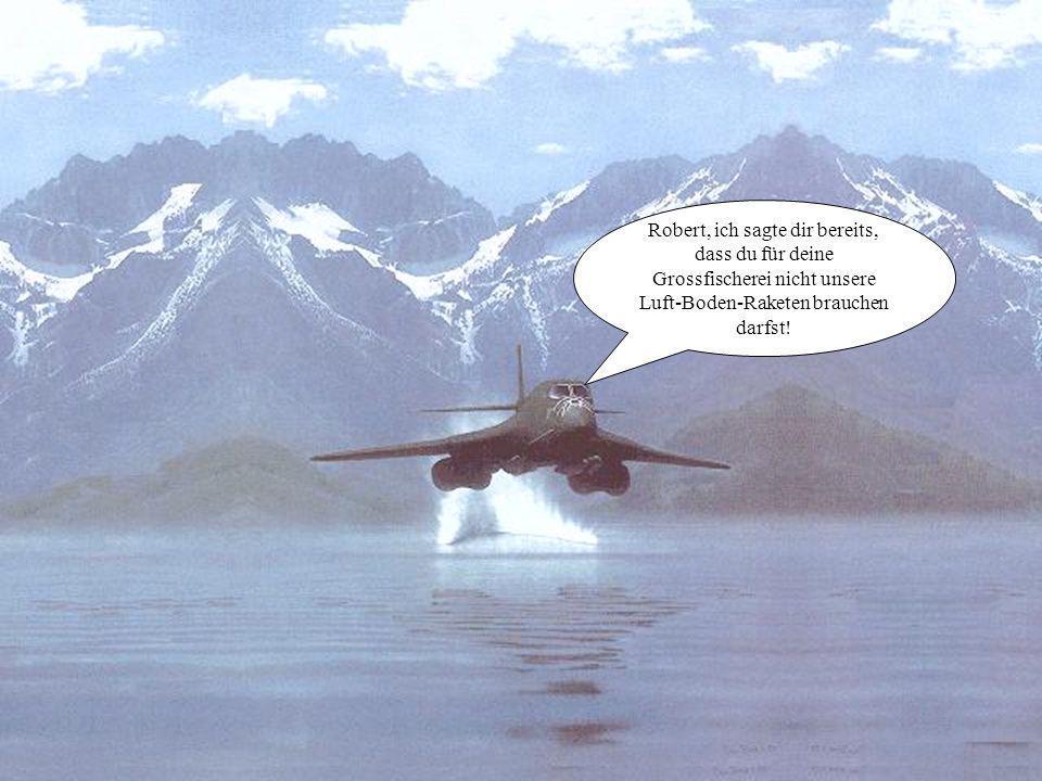 Wo hat unser Staffelkommandant bloss seine Zwischenlandung gemacht