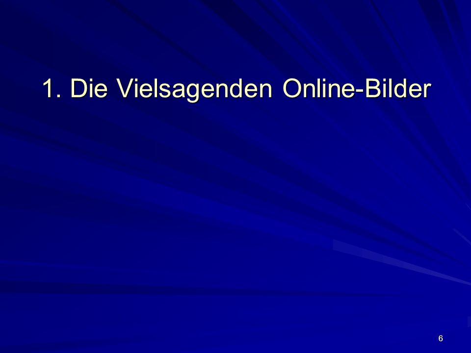 6 1. Die Vielsagenden Online-Bilder