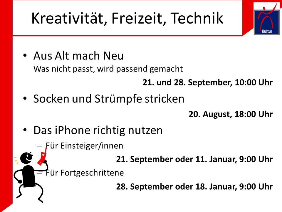 Kreativität, Freizeit, Technik Aus Alt mach Neu Was nicht passt, wird passend gemacht 21.