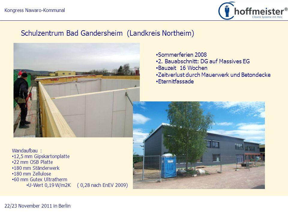 8 BAUnatour Wanderausstellung 2009-2011 Fachtagung 27. April 2010 in Göttingen Schulzentrum Bad Gandersheim (Landkreis Northeim) Sommerferien 2008 2.