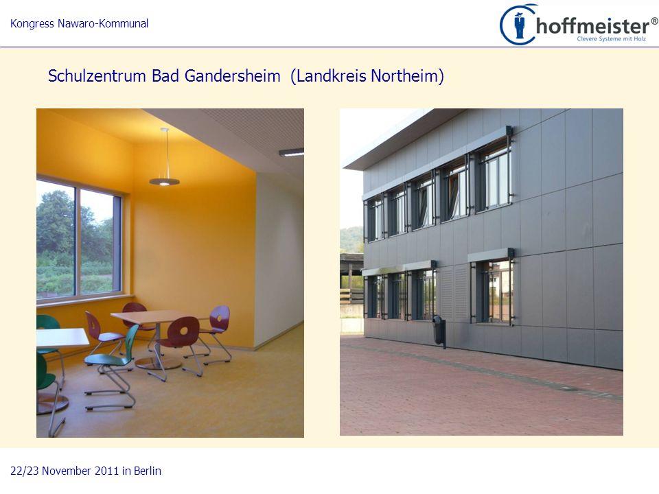 9 BAUnatour Wanderausstellung 2009-2011 Fachtagung 27. April 2010 in Göttingen Schulzentrum Bad Gandersheim (Landkreis Northeim) Kongress Nawaro-Kommu