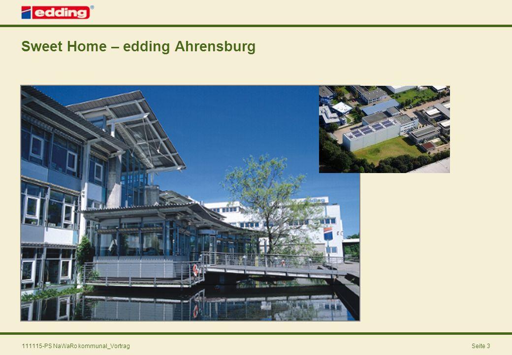 111115-PS NaWaRo kommunal_VortragSeite 3 Sweet Home – edding Ahrensburg