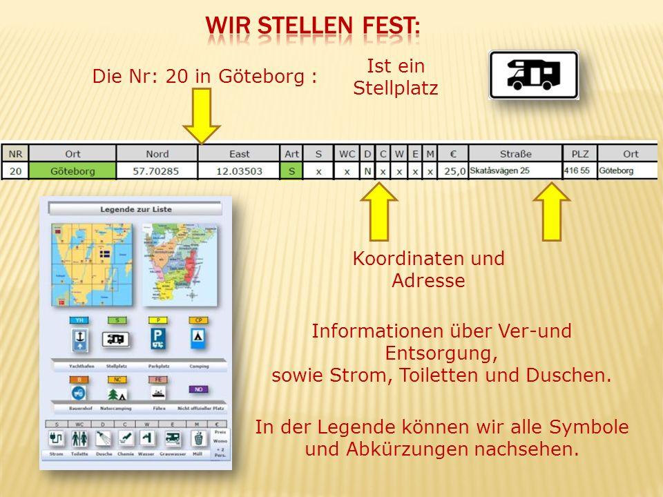 Die Koordinaten der Stellplätze sind zusätzlich auch als Poi-Datei für TOMTOM Navigationsgeräte auf der CD im Paket 3 erhältlich .