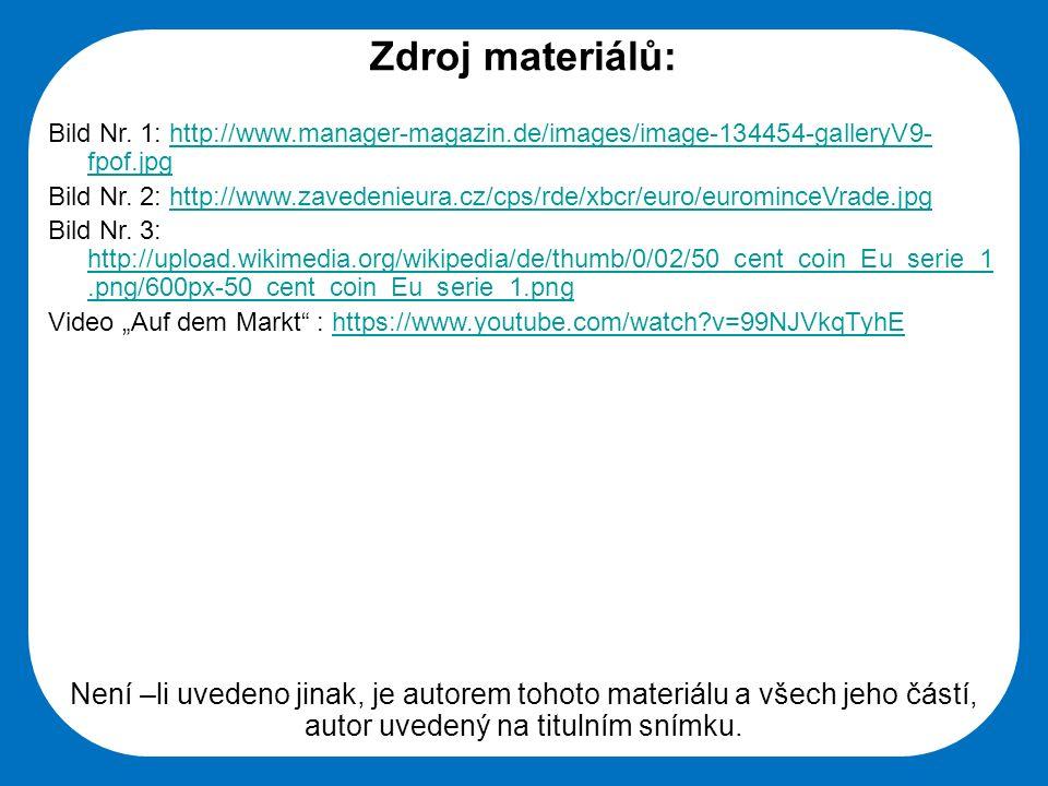 Střední škola Oselce Zdroj materiálů: Bild Nr.