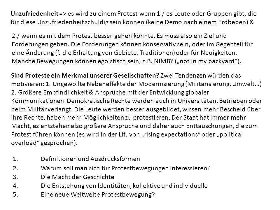 1.Definitionen und Ausdrucksformen Wer.: Zivilgesellschaft.