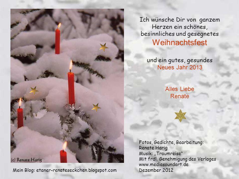 Warte, kleiner Engel, es ist noch nicht soweit, doch wenn die Kerzen brennen und es ist Weihnachtszeit, dann wird erfüllt dein Traum, ganz sicher, gla