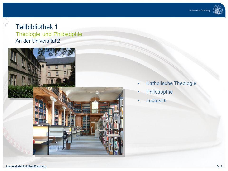 S.4Universitätsbibliothek Bamberg Pädagogik Psychologie Didaktiken Naturwiss.
