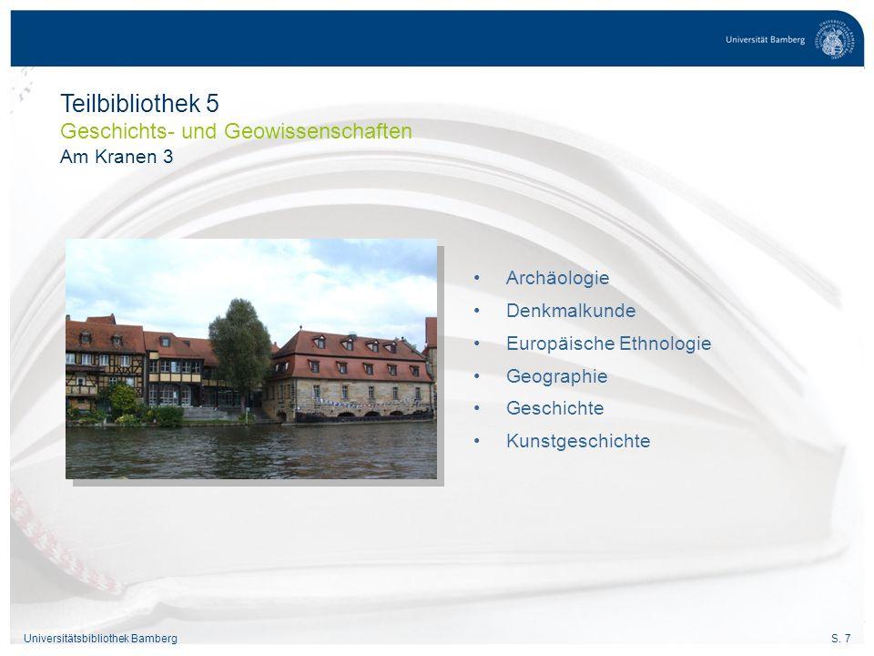 S.28Universitätsbibliothek Bamberg Was habe ich ausgeliehen.