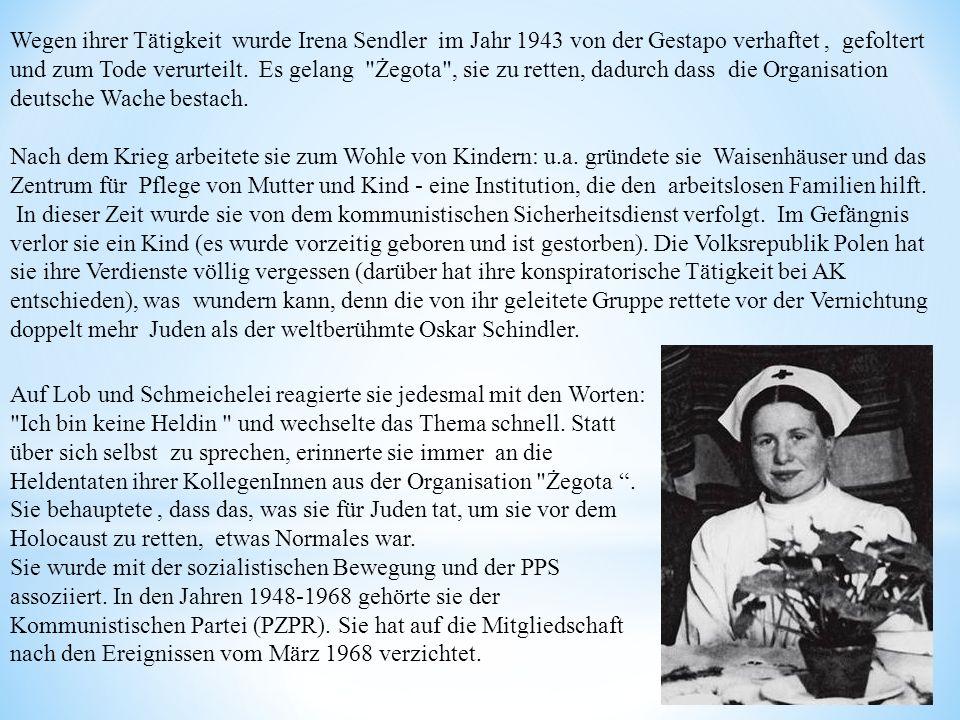 Nach dem Krieg arbeitete sie zum Wohle von Kindern: u.a. gründete sie Waisenhäuser und das Zentrum für Pflege von Mutter und Kind - eine Institution,