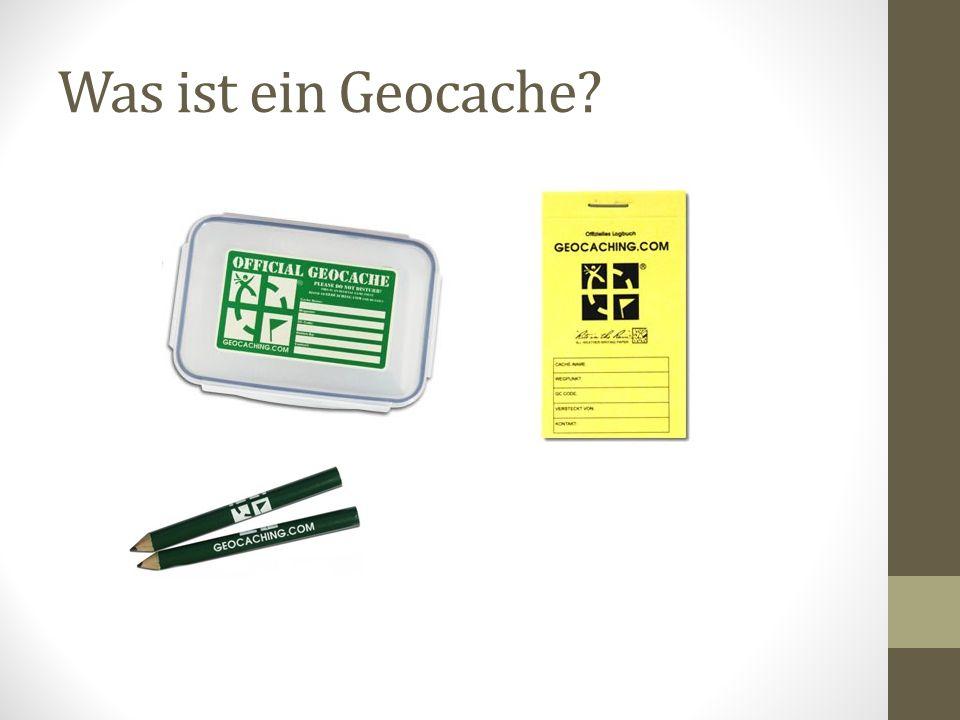 Was ist ein Geocache?