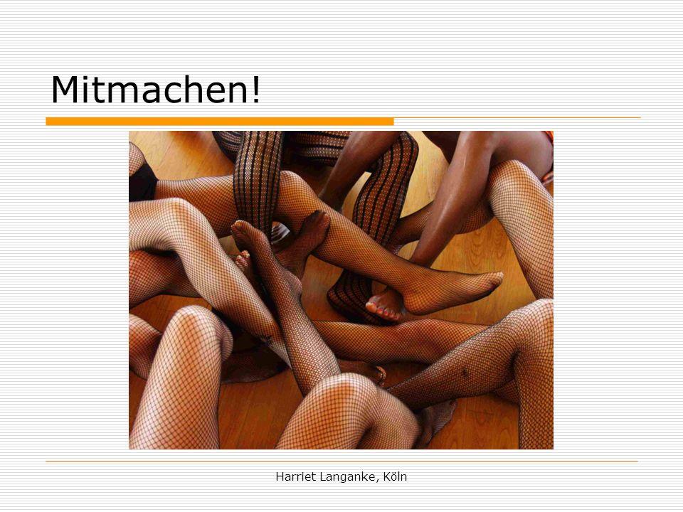 Harriet Langanke, Köln Mitmachen!