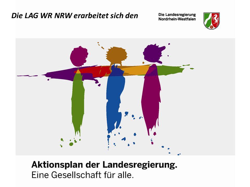Die LAG WR NRW erarbeitet sich den
