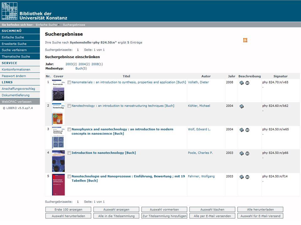 Einführung in die Bibliothek Angela Barth-Küpper Bibliothek der Universität Konstanz