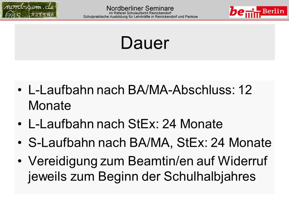 Rechtsgrundlagen Lehrerbildungsgesetz Lehrerausbildungs- ordnung (LAusbO) 2.