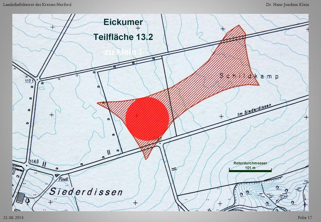 Folie 1725.06.2013 Landschaftsbeirat des Kreises HerfordDr. Hans-Joachim Klein
