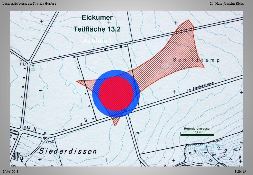 Folie 1925.06.2013 Landschaftsbeirat des Kreises HerfordDr. Hans-Joachim Klein
