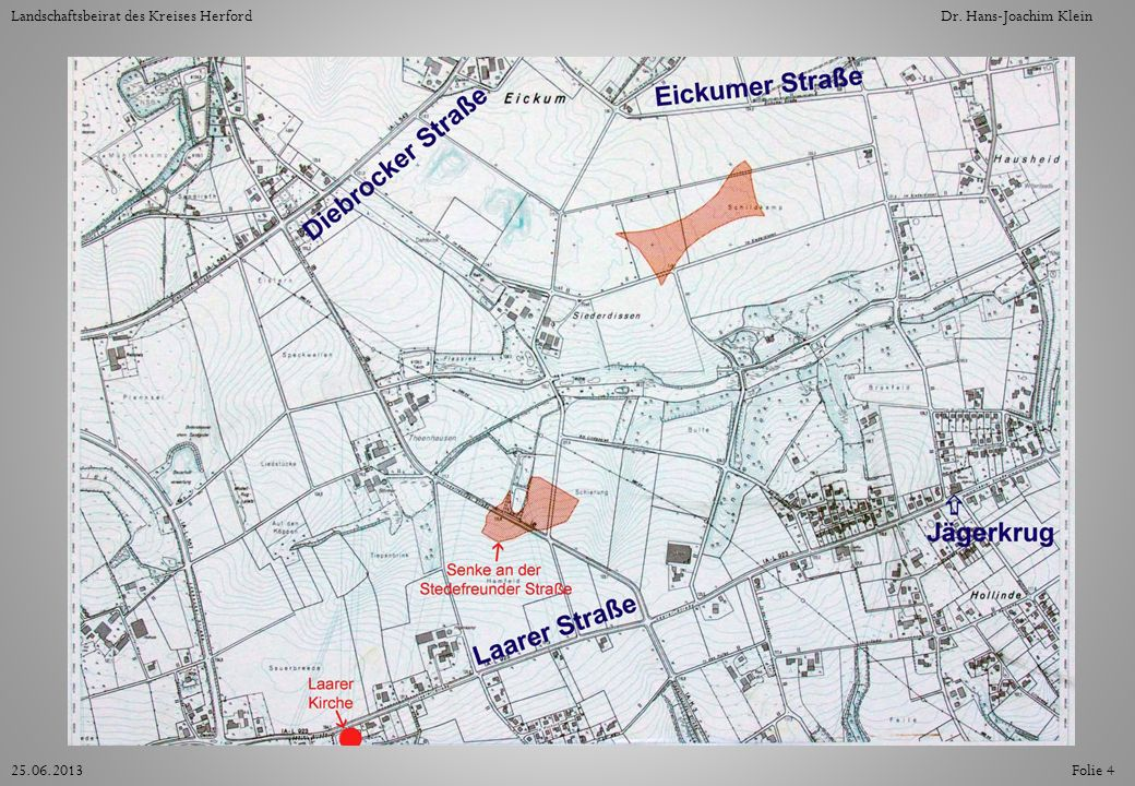 Die Karte zeigt die Teilfläche 13.2 (oben) und 13.3 (unten).