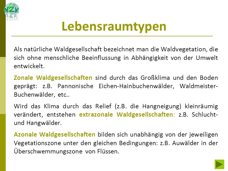 FFH-Lebensraumtypen in Niederösterreich Niederösterreich hat Anteil an einigen geologisch sehr unterschiedlichen Regionen: Böhmische Masse, Donauraum, Alpenvorland und Kalkalpen.