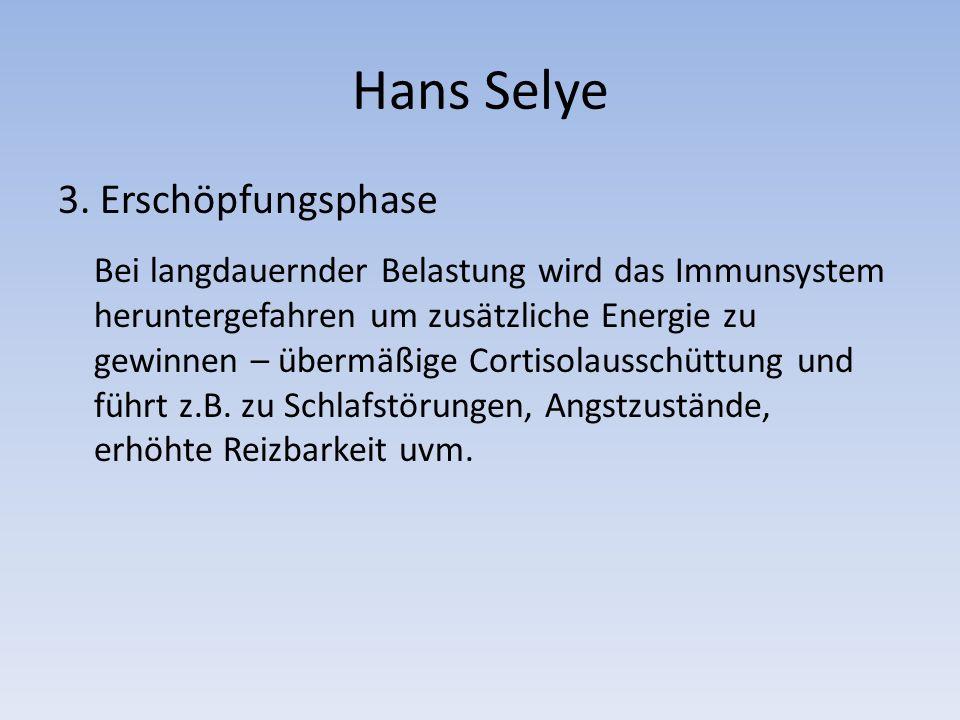 Hans Selye 3.