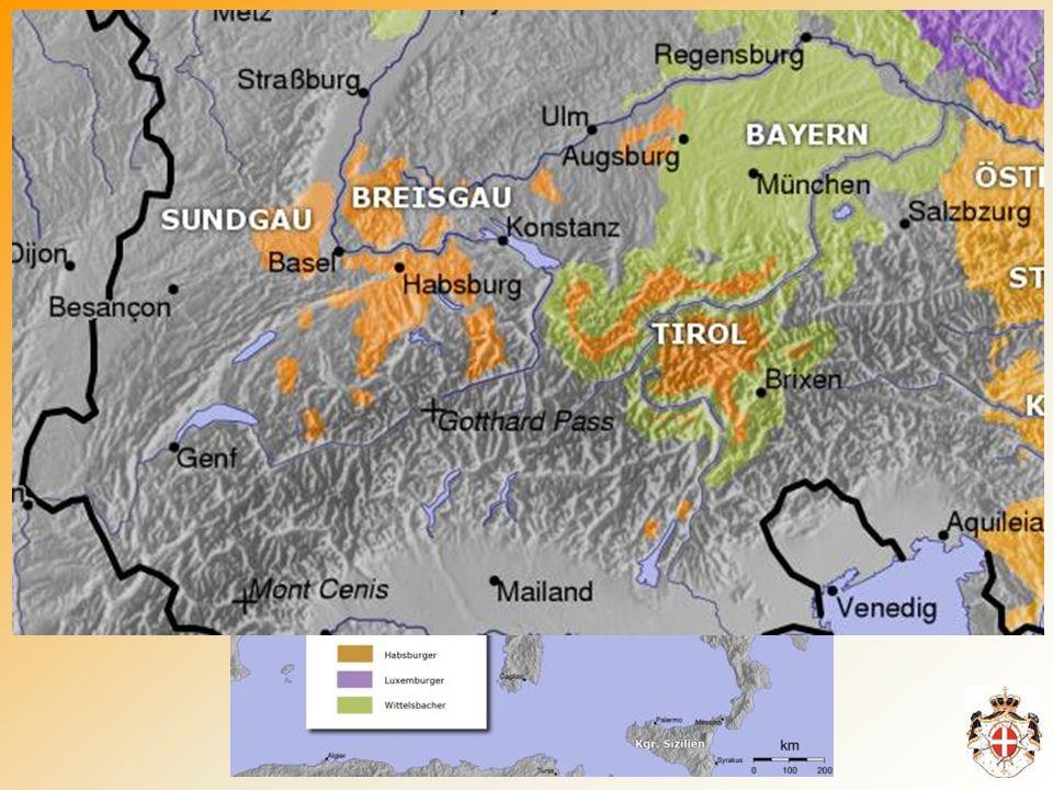 Die ersten Niederlassungen und Ordenshäuser (Kommenden) entstanden in der 2.