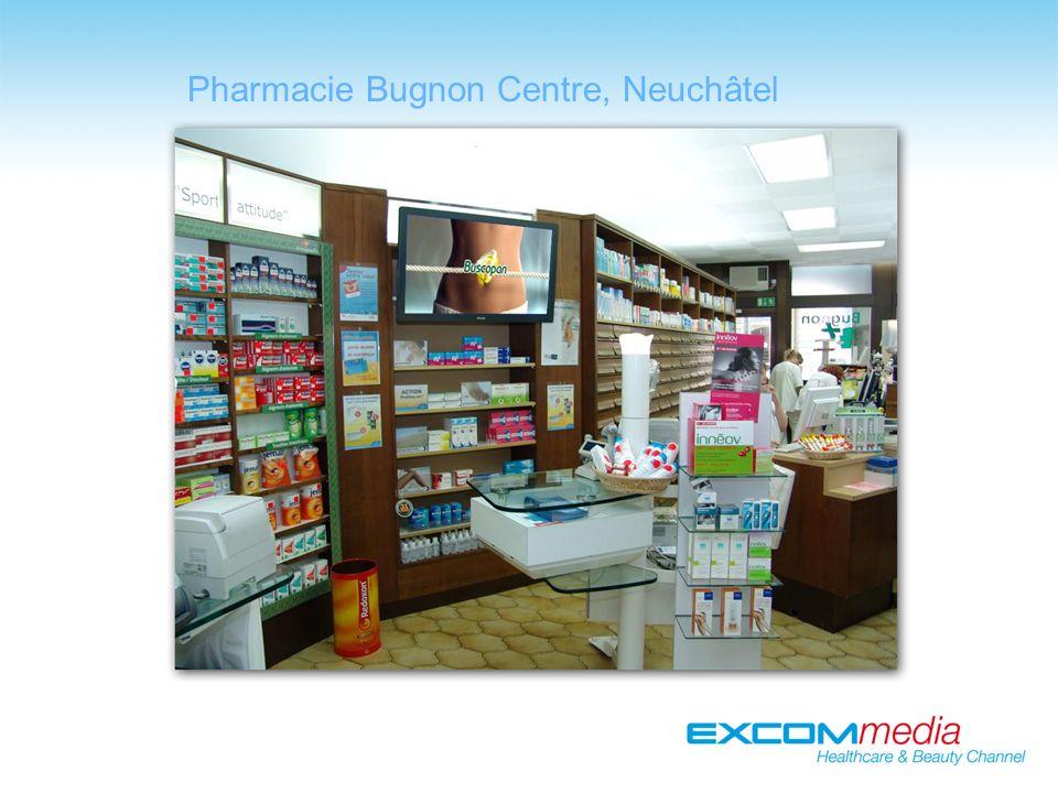 Pharmacie Bugnon Centre, Neuchâtel