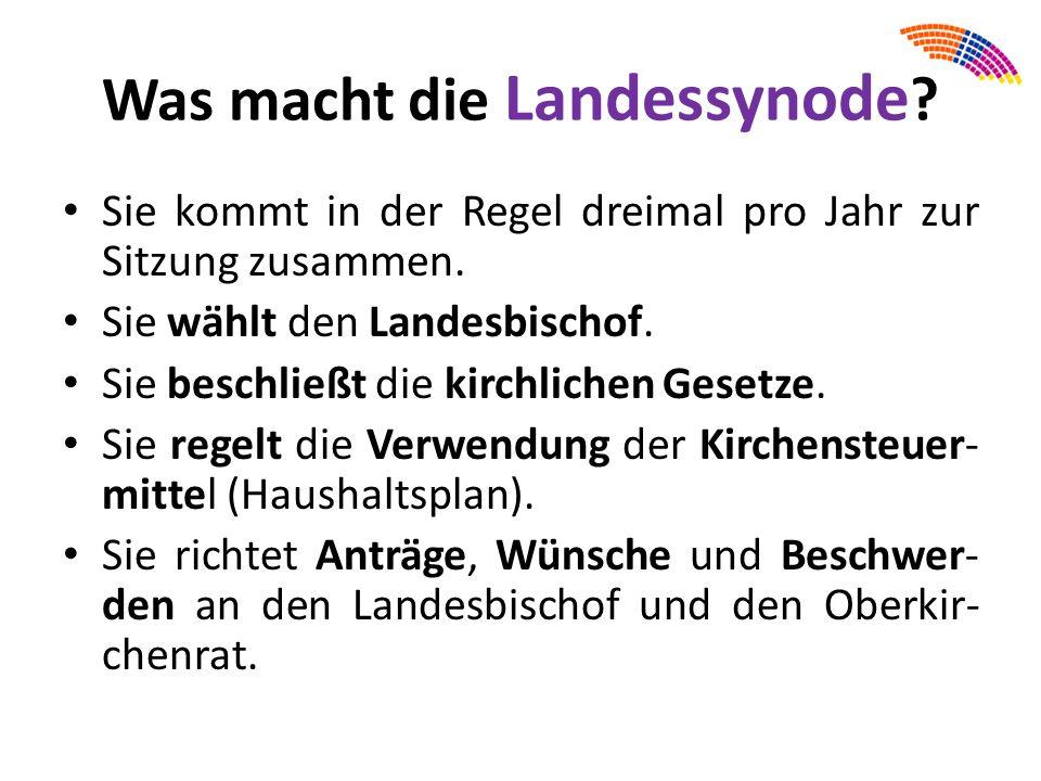 Mögliche Aufgabe: Interviewe eine/n Kirchen- gemeinderätin/ -rat (= KGR) aus Deiner Kirchengemein- de.
