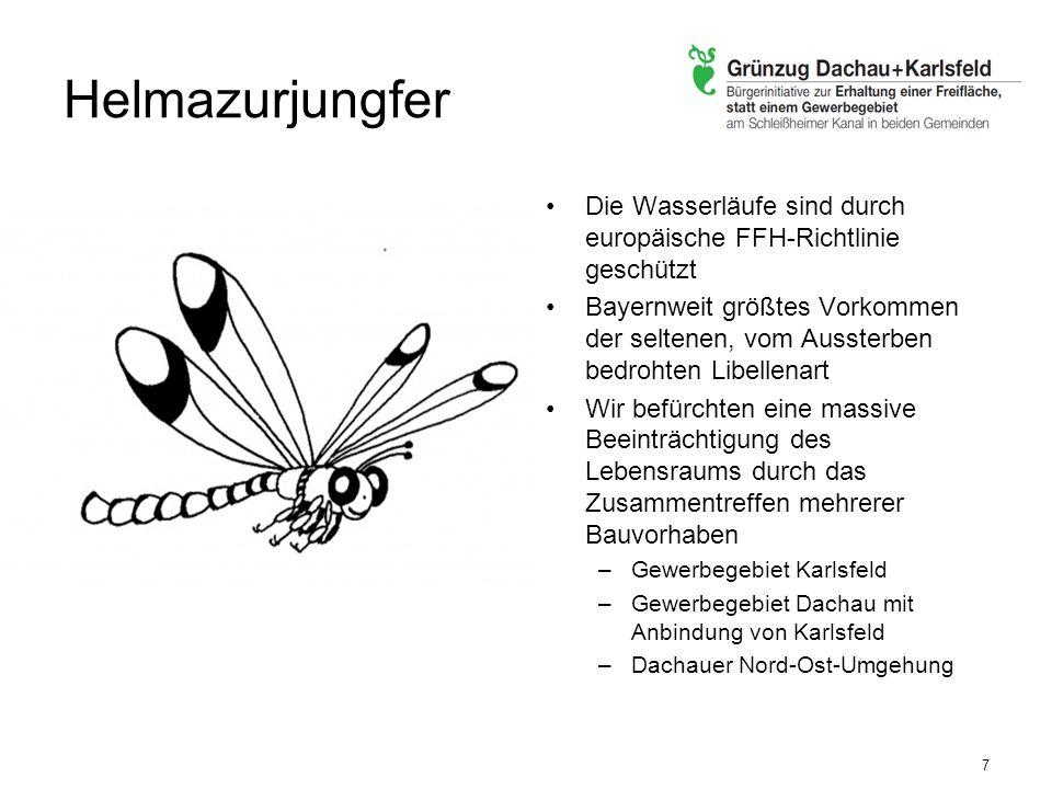 Grünzug hat Vorrang Mit dem Nein ein Neubeginn Zum Nutzen der Karlsfelder Bürger Runder Tisch zur Diskussion der Kreistagsvorschläge für Dachau und Karlsfeld 18