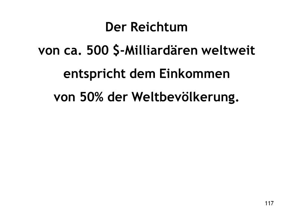 117 Der Reichtum von ca.