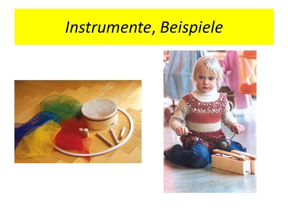 Instrumente, Beispiele