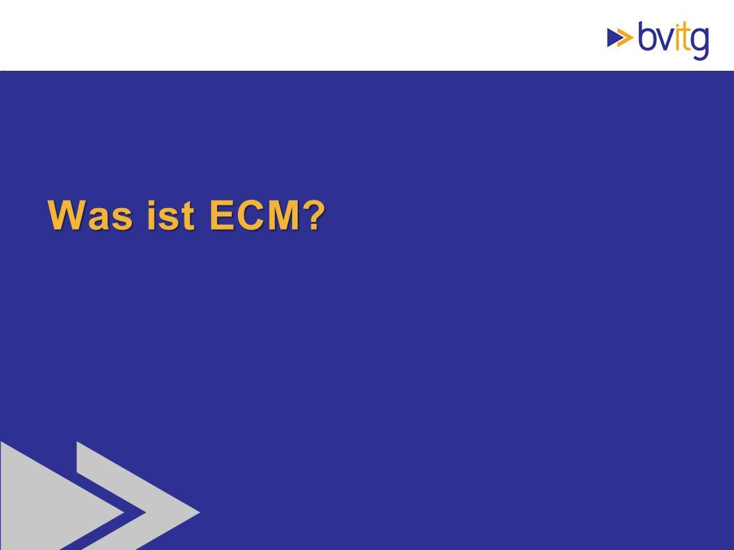 13 Was ist ECM?