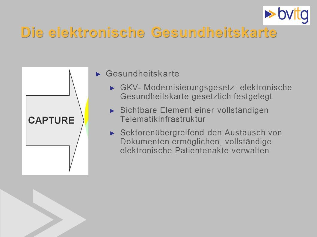 35 Die elektronische Gesundheitskarte Gesundheitskarte GKV- Modernisierungsgesetz: elektronische Gesundheitskarte gesetzlich festgelegt Sichtbare Elem