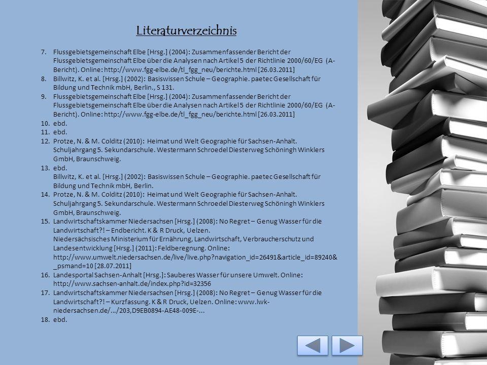 Literaturverzeichnis 1.European River Network (o.J.): Big Jump 2005-2015. Online: http://www.rivernet.org/bigjump/welcomed.htm; Deutsche Umwelthilfe e