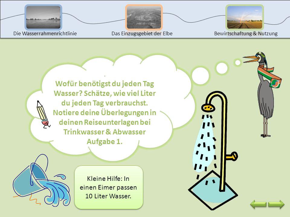 . Willkommen an der Station Trinkwasser & Abwasser! Wasser ist Leben und wir müssen unser Wasser schützen! Weißt du, wofür du jeden Tag Wasser benötig