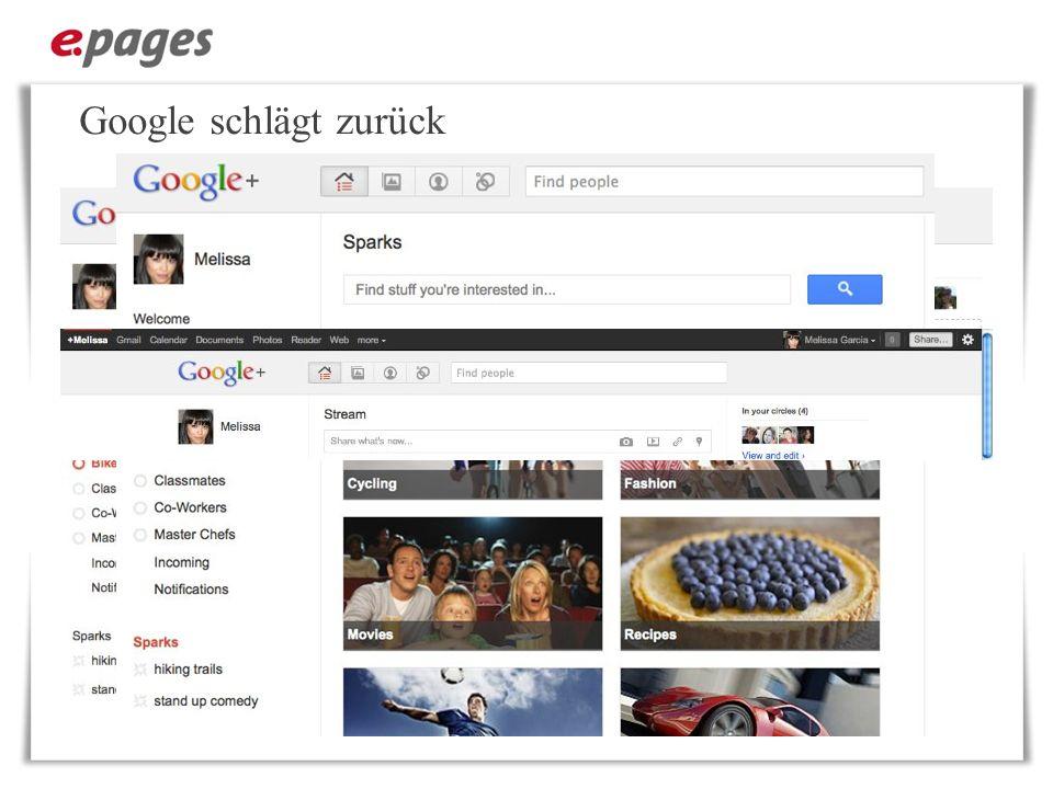 Google schlägt zurück