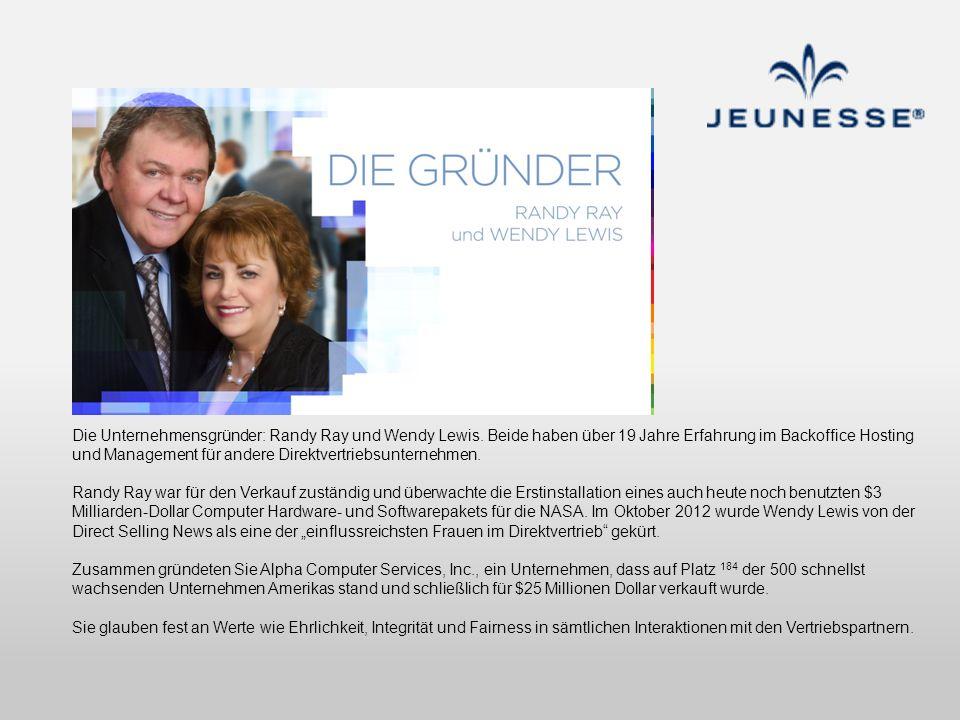 Die Unternehmensgründer: Randy Ray und Wendy Lewis. Beide haben über 19 Jahre Erfahrung im Backoffice Hosting und Management für andere Direktvertrieb