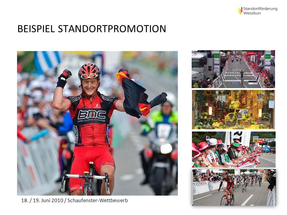 BEISPIEL STANDORTPROMOTION 18. / 19. Juni 2010 / Schaufenster-Wettbewerb