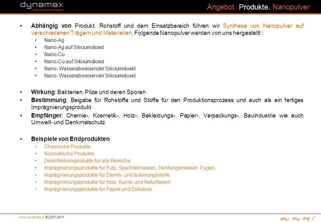 www.dynamax.pl © 2007-2011 Angebot.Produkte.