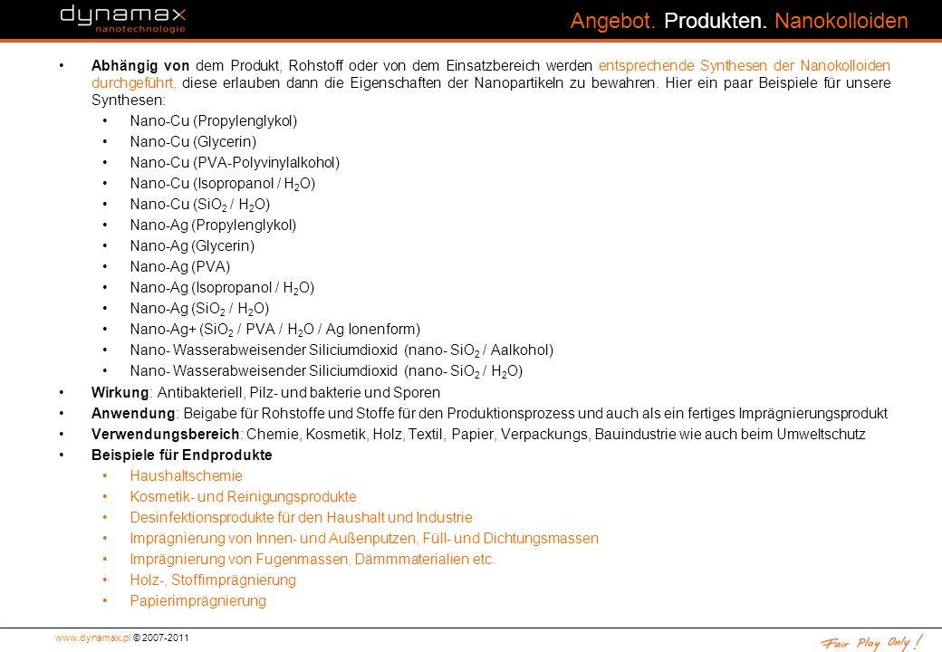 www.dynamax.pl © 2007-2011 Angebot.Produkten.