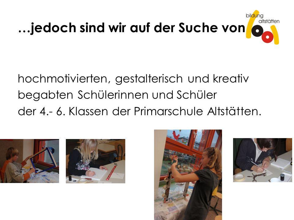 Voraussetzungen Es faszinieren dich Techniken aus dem textilen (Handarbeit) oder technischen Werken oder dem Bildnerischen Gestalten (Zeichnen), welche du bei einer x-beliebigen Aufgabe einsetzen kannst.
