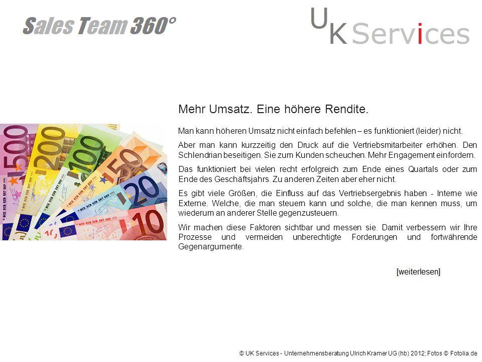 Geringere Kosten in Vertrieb & Marketing.