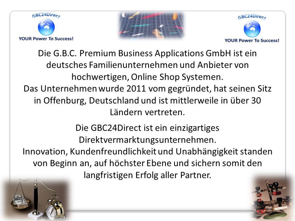 Die G.B.C. Premium Business Applications GmbH ist ein deutsches Familienunternehmen und Anbieter von hochwertigen, Online Shop Systemen. Das Unternehm